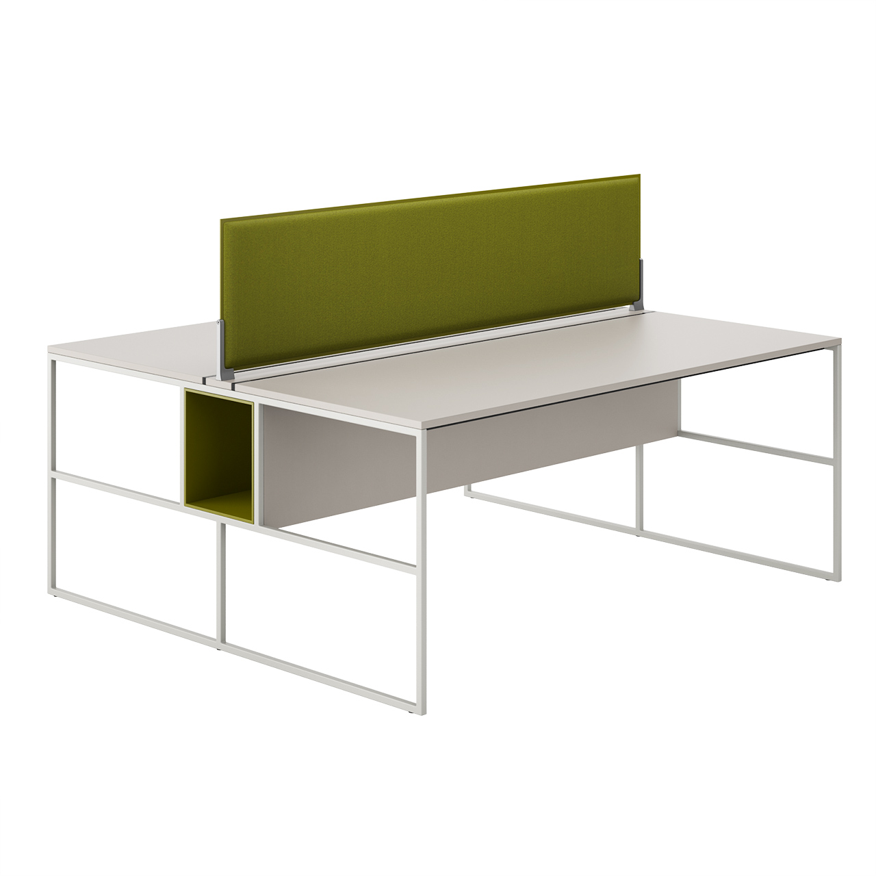Venti Double Table System by MDF Italia