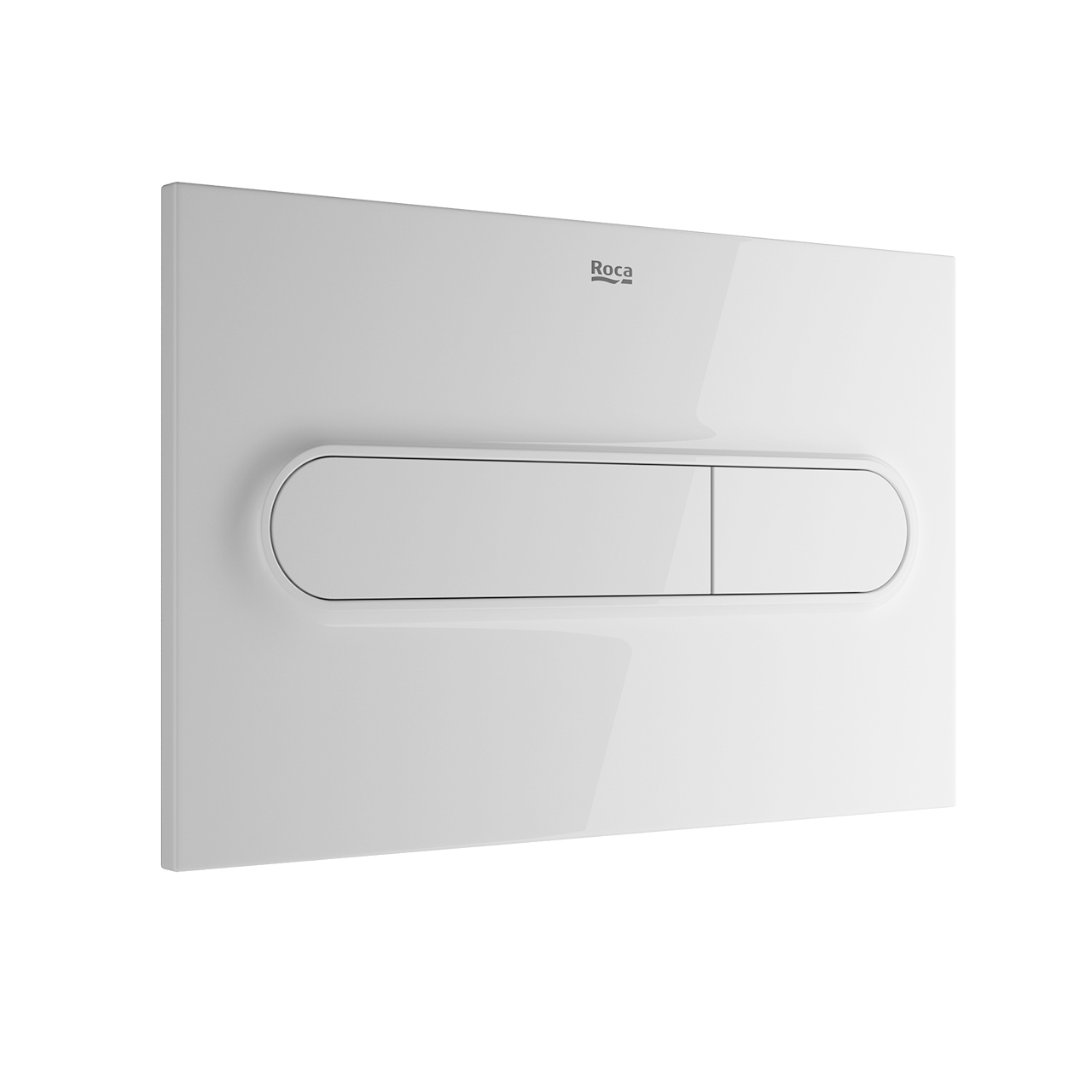PL1 Dual Flush Plate by Roca