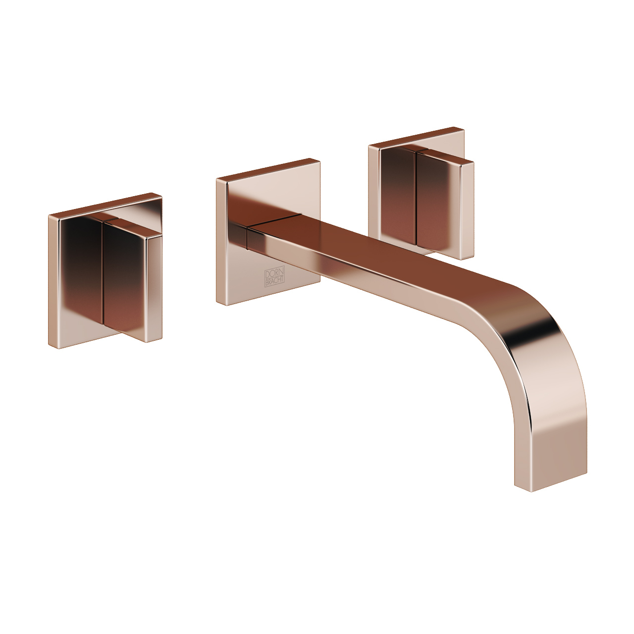 Mem Wall Mounted Three Hole Basin Mixer by DornBracht