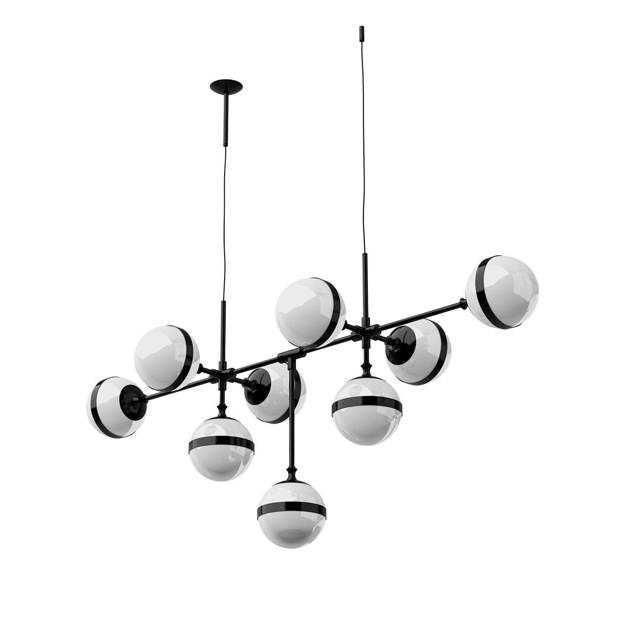Peggy SP Pendant Lamp by Vetreria Vistosi
