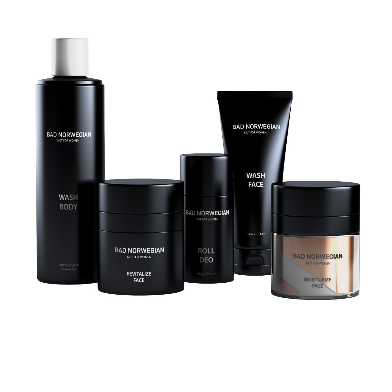Skincare Set by Bad Norwegian