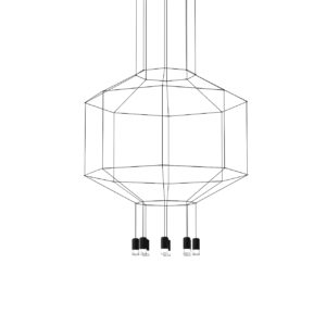 Wireflow 300 3D Lamp by Vibia