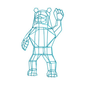 Marching Bear Object by Bend Goods