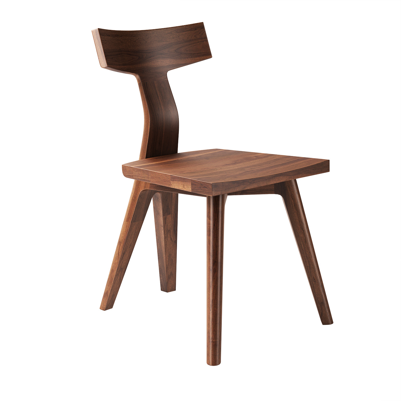 344 Fin Dining Chair by De La Espada