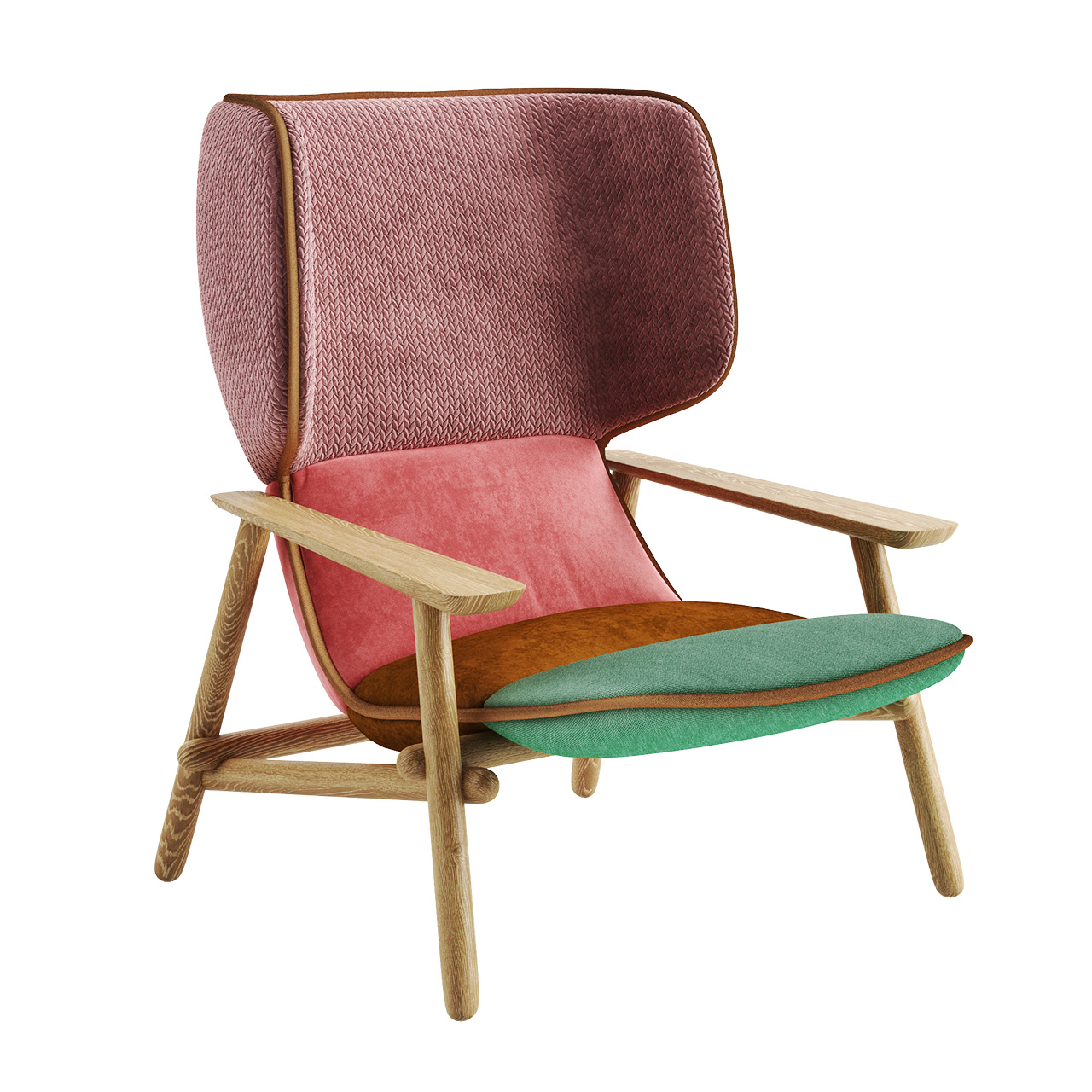 Lilo Wing Chair by Moroso