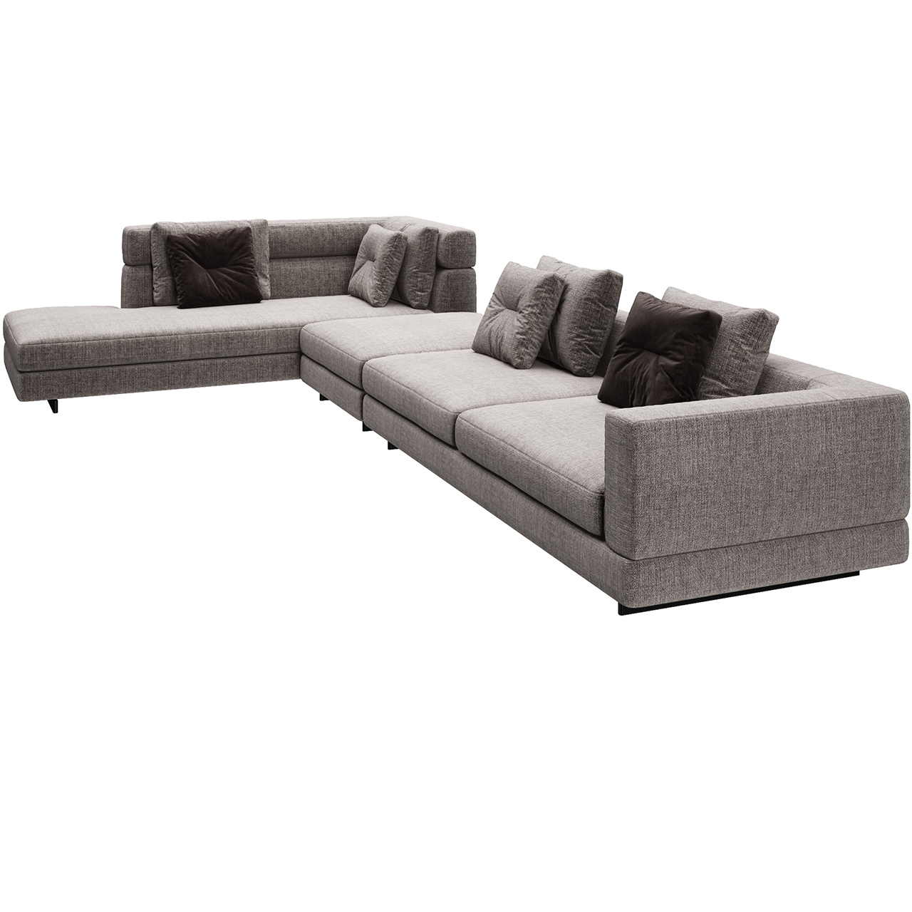 Alexander 06 Sofa by Minotti
