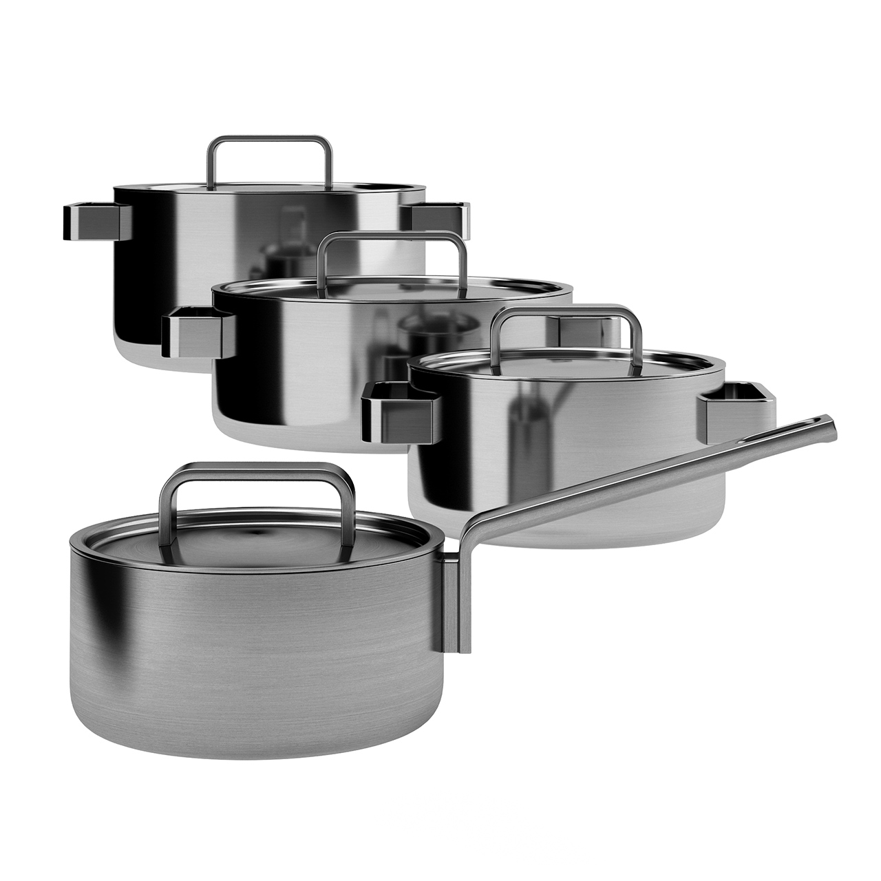 Tools 4 Set Cooking Pots by Iittala