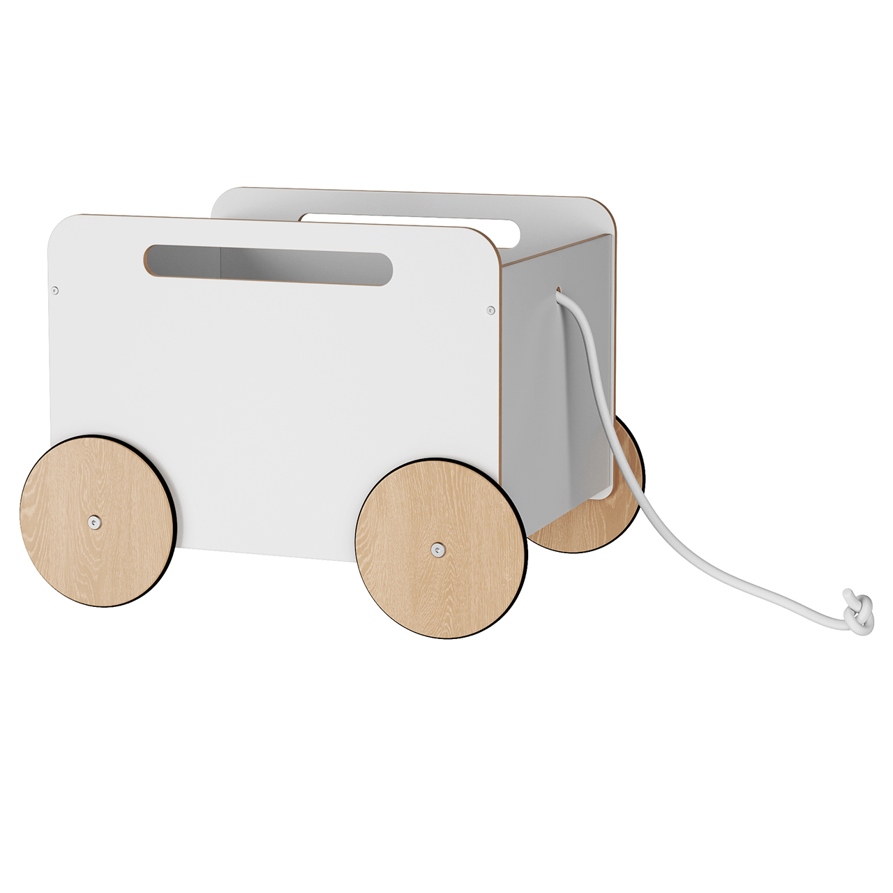 Toy Chest On Wheels by Ooh-Noo