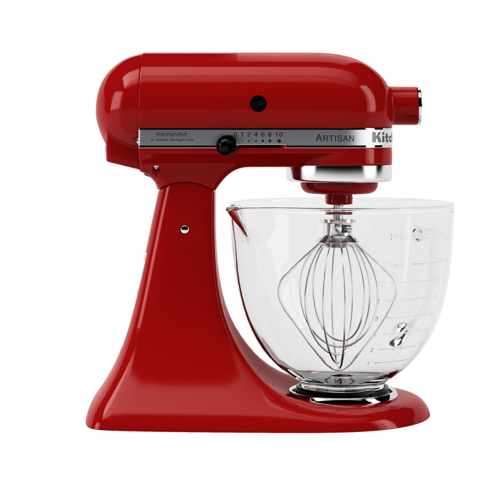3d-model-artisan-stand-mixer-4.8l-by-kitchenaid