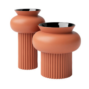 Ionico Ceramic Vases by Calligaris