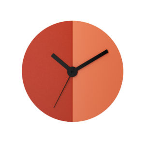 Time Wall-mounted Steel Clock by Tolix