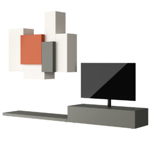 Livitalia Wall Unit C49 by Livarea
