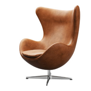 Egg Chair Loungechair by Fritz Hansen