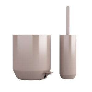 SUII Pedal Bin and Toilet Brush by Zone Denmark