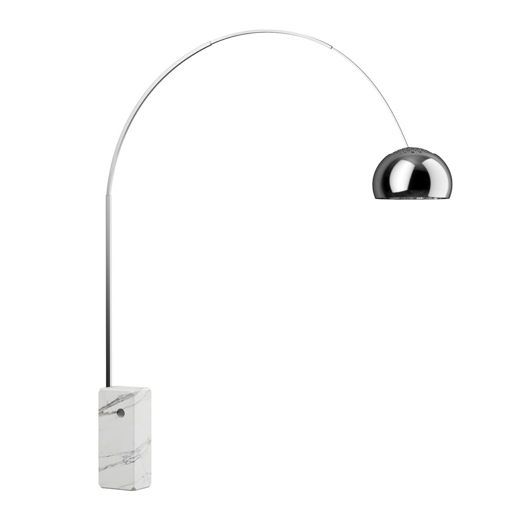 Arco Floor Lamp by Flos - Dimensiva  20d models of great designs