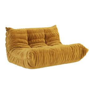Togo Loveseat Sofa by Ligne Roset