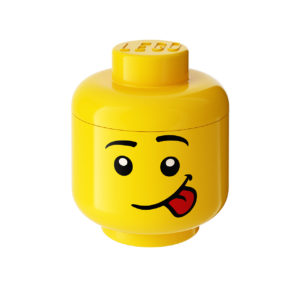Silly Small Storage Head by Lego