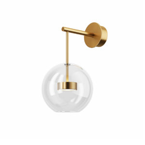 Soffio Wall Vertical Lamp by Giopato & Coombes