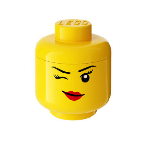 Winking Small Storage Head by Lego