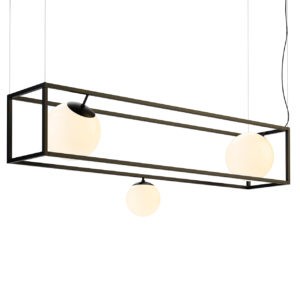 Witt 3 Chandelier by Rich Brilliant Willing