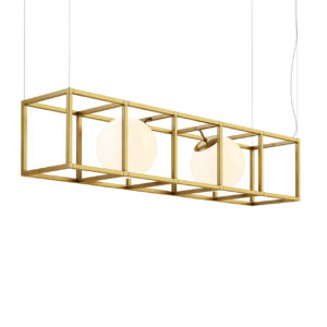 Witt 4 Chandelier by Rich Brilliant Willing