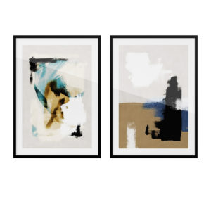 Art Prints Abstract Brushes Poster by Desenio