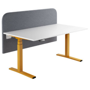 CL Series Office Desk with Paravento Screen by Ophelis
