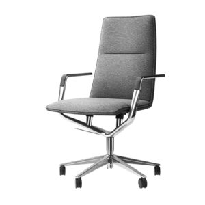 Office Chair Sola 291 Polished by Wilkhahn
