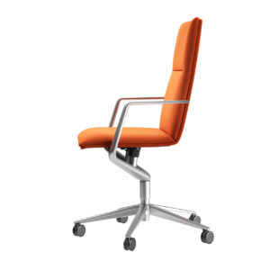 Office Chair Sola 291 Satin by Wilkhahn