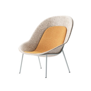 Nook PET Felt Lounge Chair by De Vorm