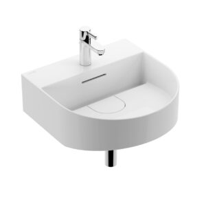 Sonar Small Washbasin 81634 by Laufen