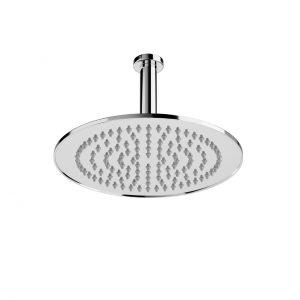 Ceiling Round Rain Shower Head 206 and 247 mm by Laufen
