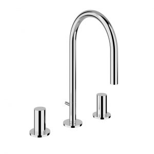 Kartell 3-Hole Basin Mixer by Laufen