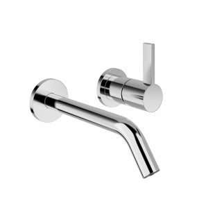 Kartell Concealed Single Lever Basin Mixer 175 mm by Laufen