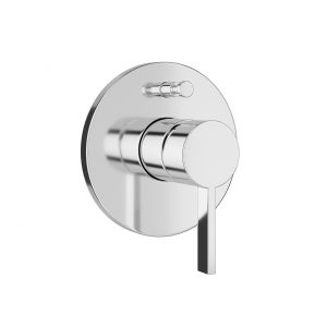 Kartell Concealed Single Lever Bath Mixer With Diverter by Laufen
