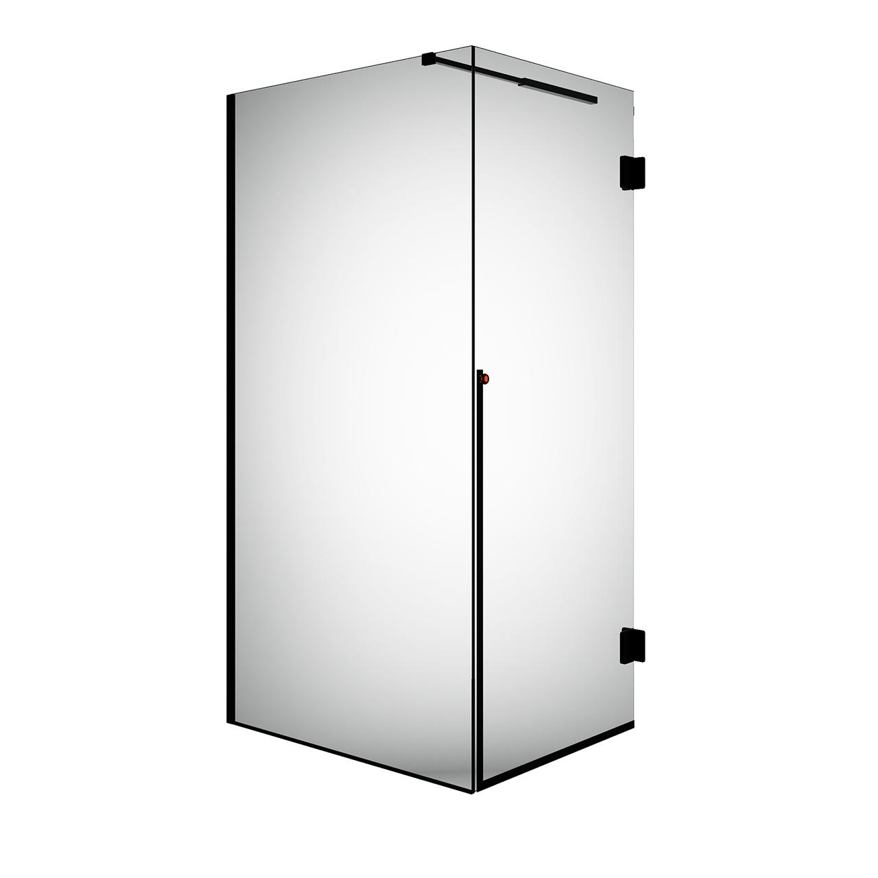 Nouveau Right Corner Shower Cabin by Ex.t