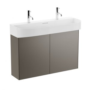 Sonar Vanity Unit 2 Doors 975 mm by Laufen