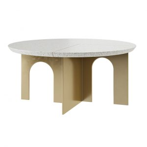 Arche Round Coffee Table by Paolo Castelli