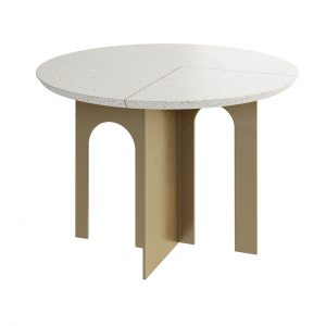Arche Round Dining Table by Paolo Castelli