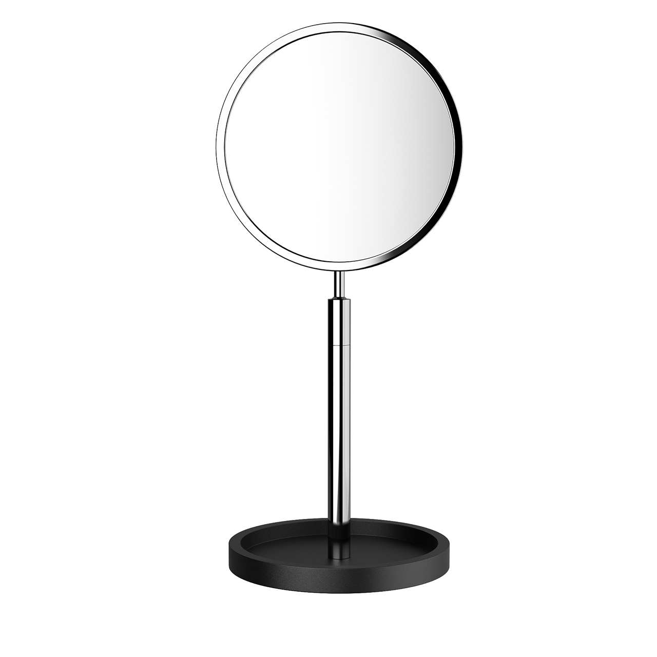 Black Stone Cosmetic Mirror by Decor Walther