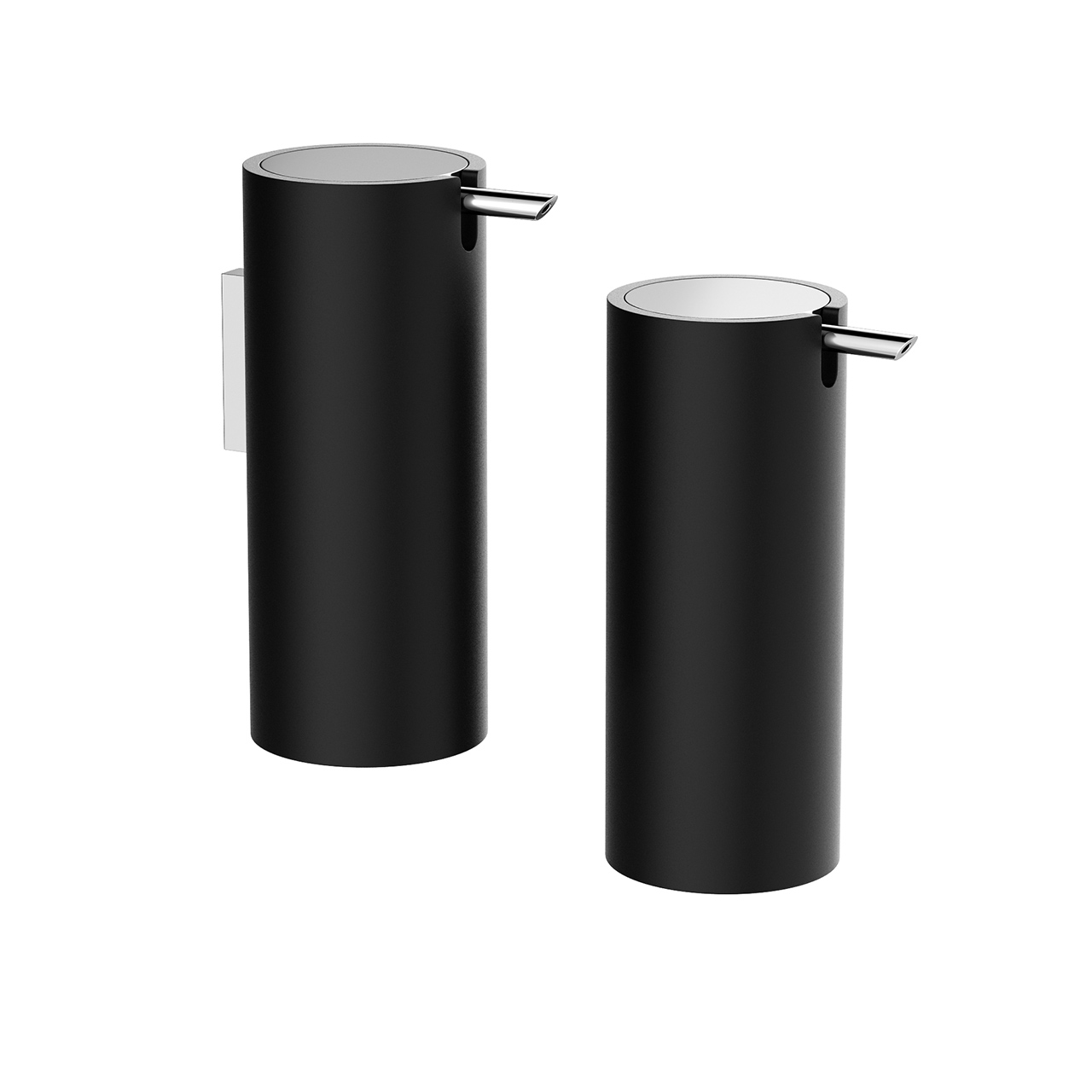 Black Stone Soap Dispenser by Decor Walther