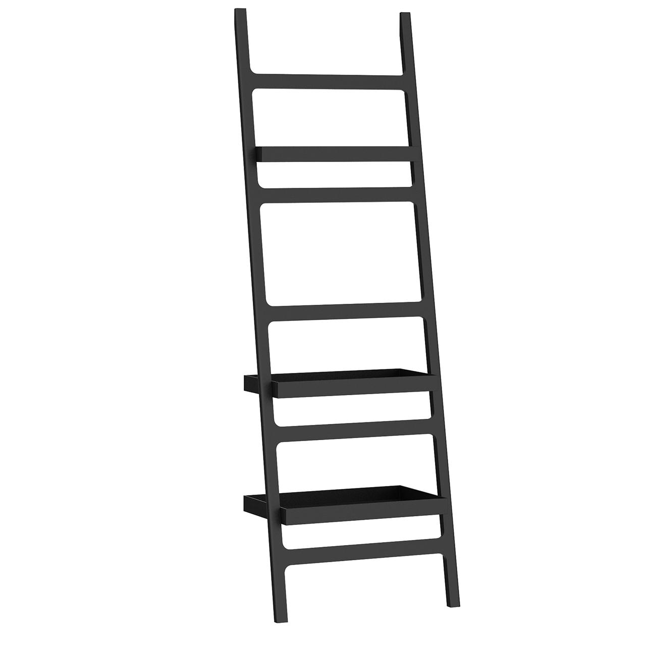 Black Stone Towel Ladder by Decor Walther