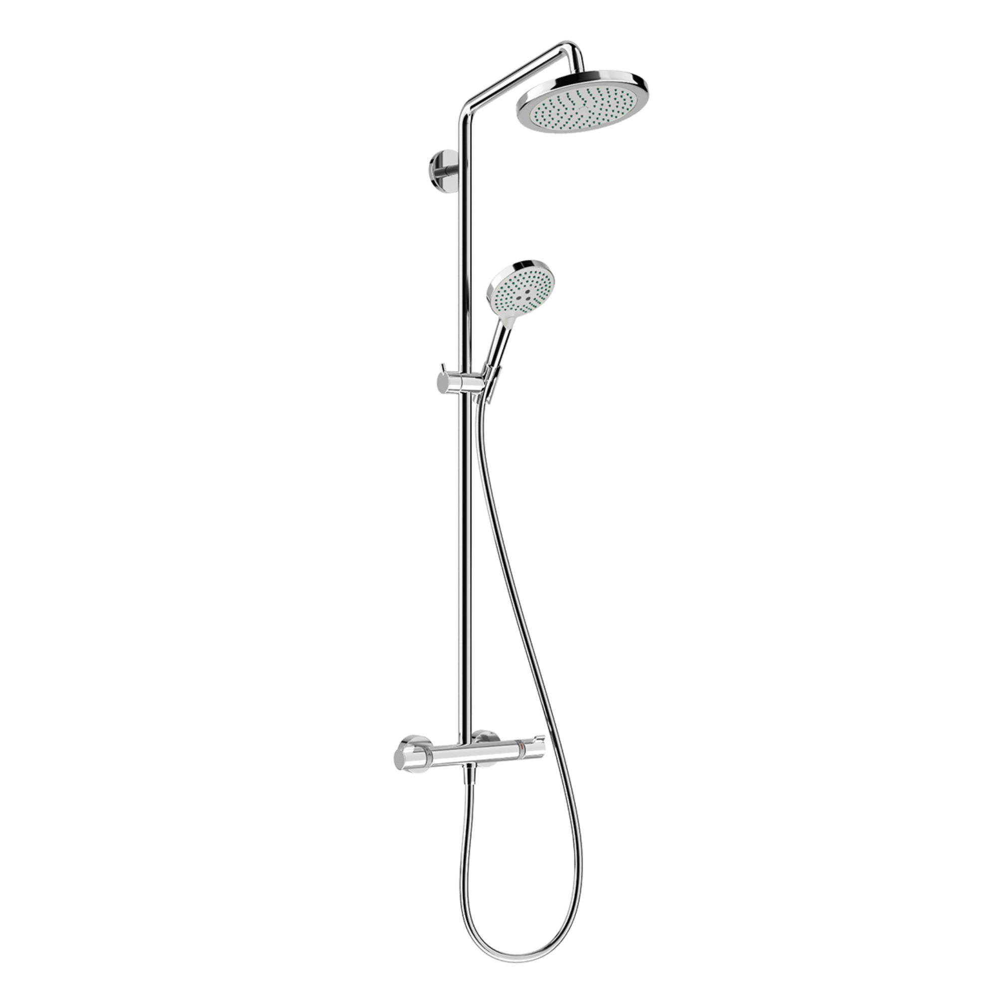 Croma Showerpipe 220 Thermostat by Hansgrohe