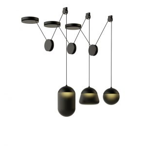 Planets Pendant Lamp PC1234 by Brokis
