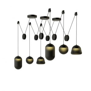 Planets Pendant Lamp PC1235 by Brokis