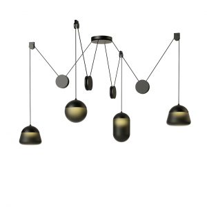 Planets Pendant Lamp PC1237 by Brokis