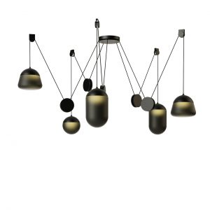Planets Pendant Lamp PC1238 by Brokis