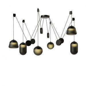 Planets Pendant Lamp PC1239 by Brokis
