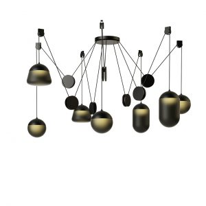 Planets Pendant Lamp PC1240 by Brokis