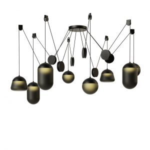 Planets Pendant Lamp PC1241 by Brokis